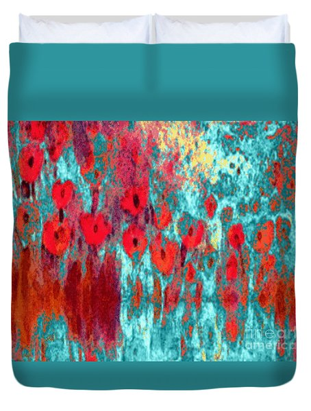 Poppy Passion Duvet Cover