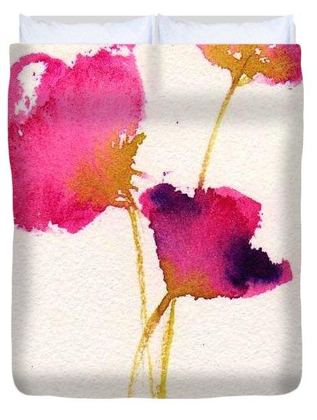 Poppy Pirouette Duvet Cover