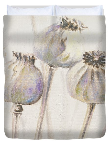 Poppy Seeds I Duvet Cover