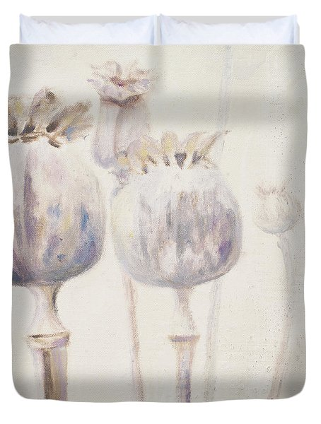 Poppy Seeds II Duvet Cover