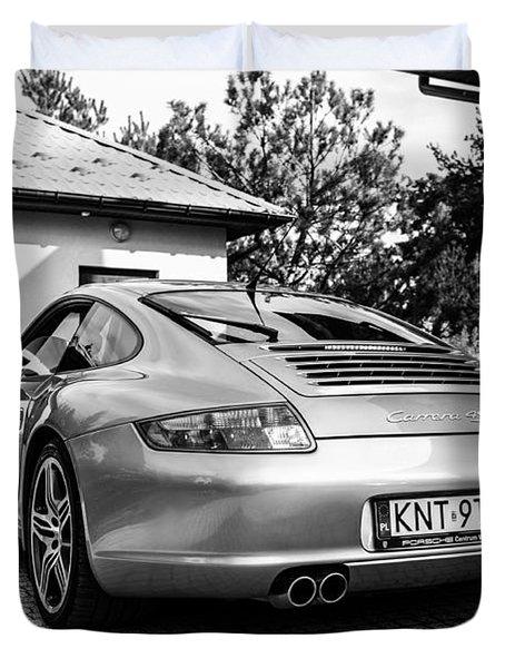 Porsche 911 Carrera 4s Duvet Cover