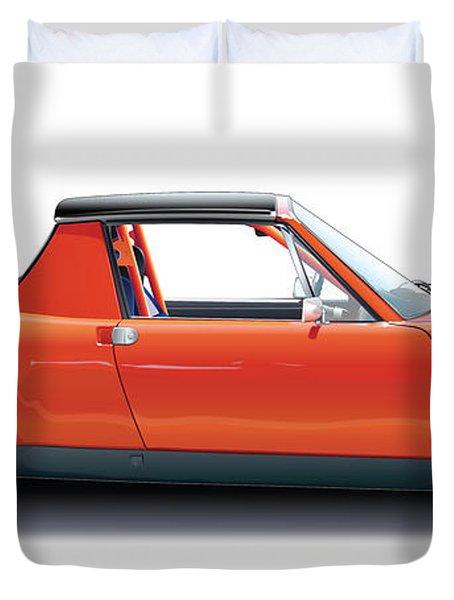 Porsche 914-6 Gt Duvet Cover by Alain Jamar