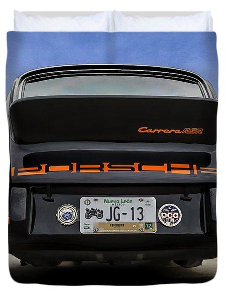 Porsche Carrera Rsr Duvet Cover by Douglas Pittman