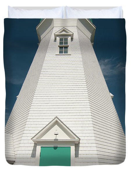 Port Dalhousie Lighthouse 9057 Duvet Cover