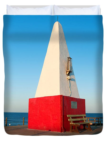 Port Denison Obelisk Duvet Cover