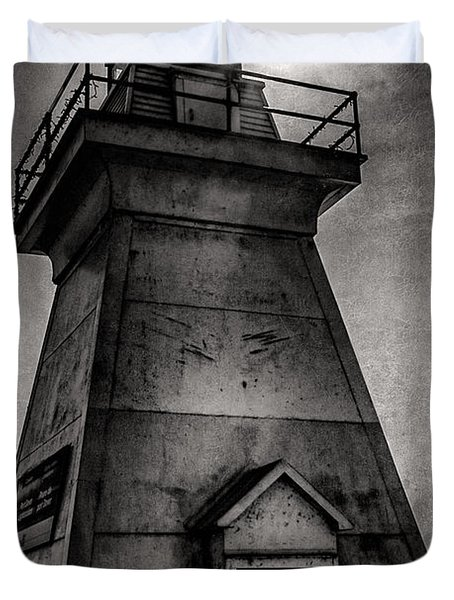 Port Dover Lighthouse Duvet Cover