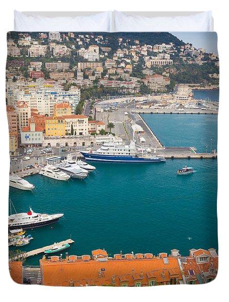 Port Du Nice Duvet Cover by Inge Johnsson