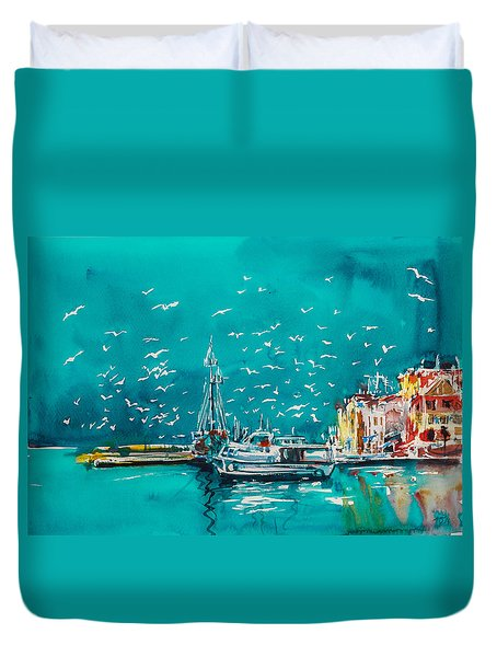 Port Duvet Cover