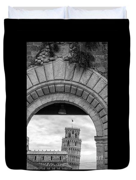 Porta Di Pisa Duvet Cover