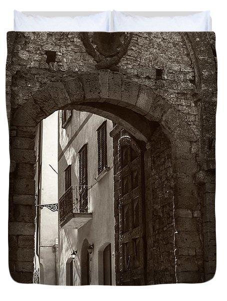 Porta Florentina Duvet Cover