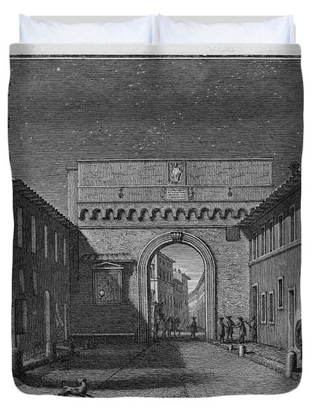 Porta Settimiana Duvet Cover