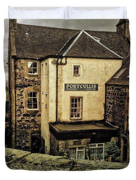 The Portcullis Duvet Cover