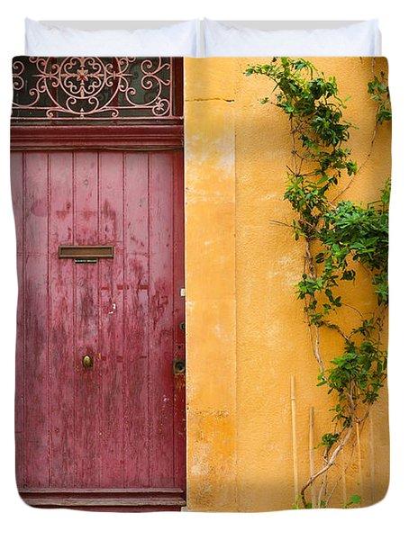 Porte Rouge Duvet Cover
