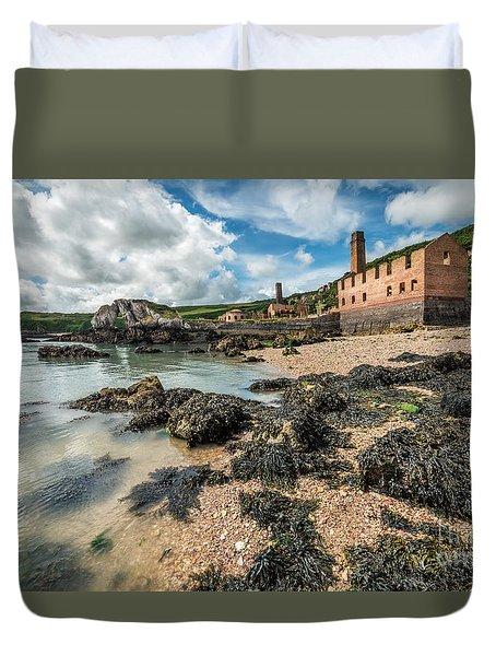 Porth Wen Brickworks Duvet Cover by Adrian Evans