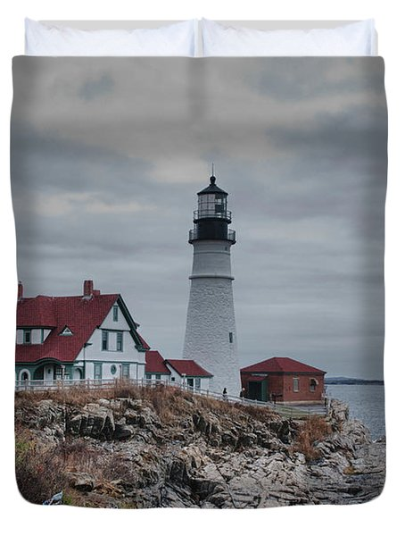 Portland Headlight 14456 Duvet Cover