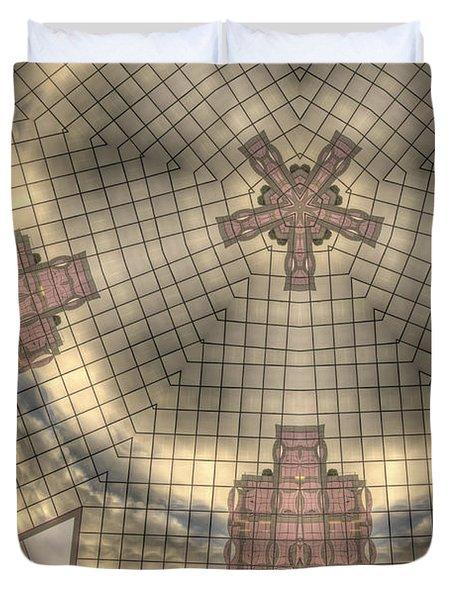Portland Transformed Duvet Cover by Jean Noren