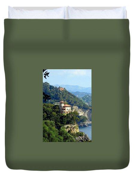 Portofino Coastline Duvet Cover