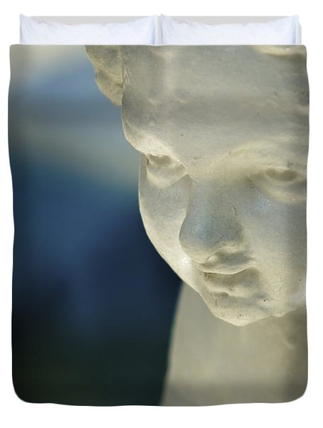 Portrait Of A Cherub Duvet Cover
