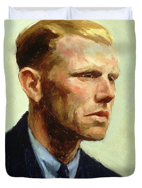 Portrait Of A Man Painting by Edward Hopper