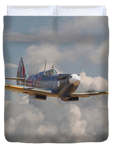 Portrait Of An Icon Duvet Cover by Pat Speirs