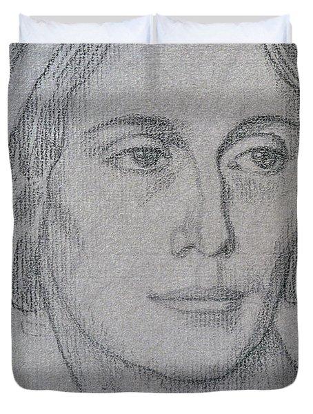 Portrait Of Anna Pavlova Duvet Cover