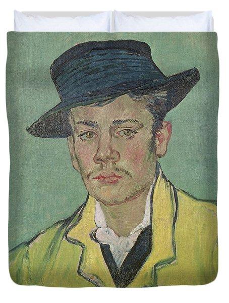 Portrait Of Armand Roulin Duvet Cover