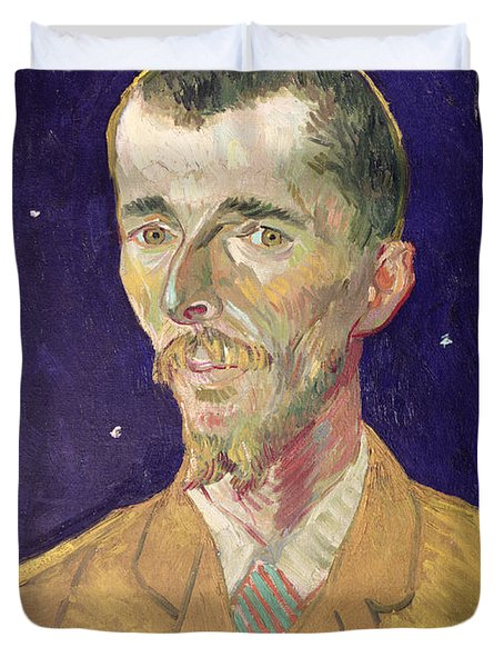Portrait Of Eugene Boch Duvet Cover by Vincent Van Gogh