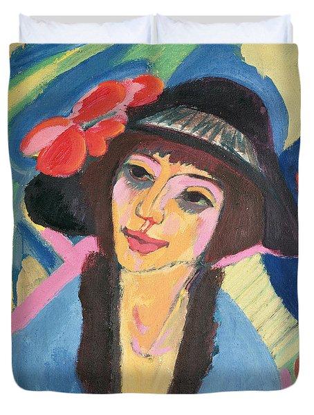Portrait Of Gerda Duvet Cover