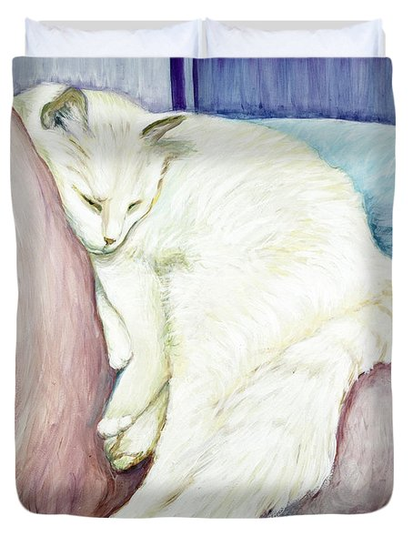 Portrait Of Monroe Duvet Cover
