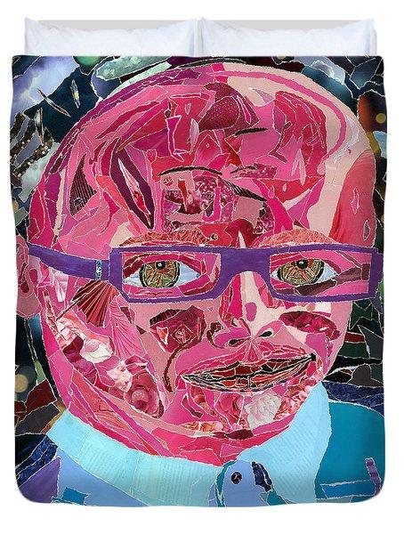 Portraiture Of Passion Duvet Cover