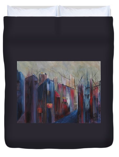 Port's Passage Duvet Cover