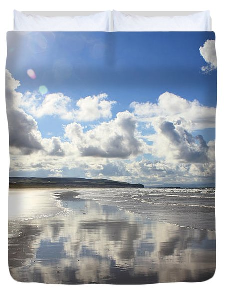 Portstewart Strand 4 Duvet Cover