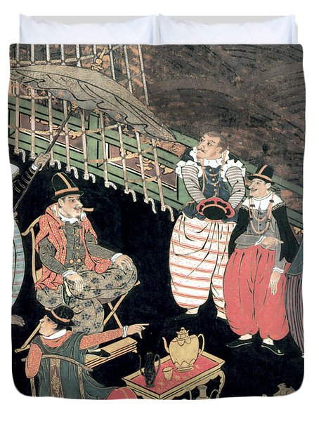 Portuguese Merchants Awaiting Duvet Cover