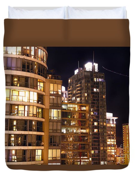 Duvet Cover featuring the photograph Posh Neighbors Dccxl by Amyn Nasser