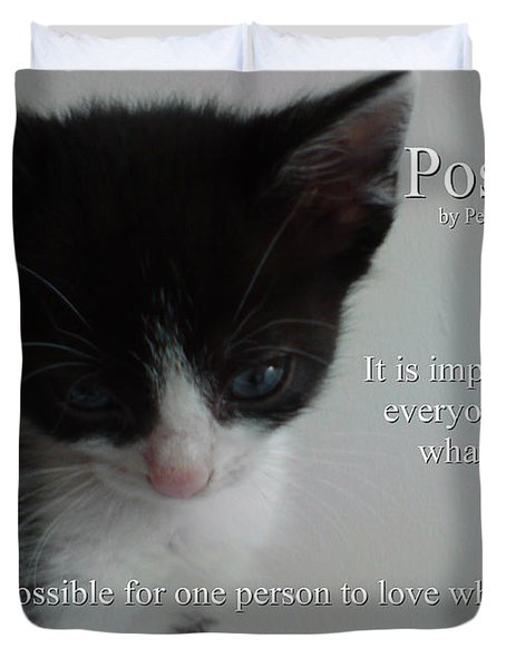 Possible Duvet Cover