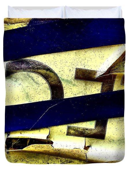 Lamppost 1b Duvet Cover