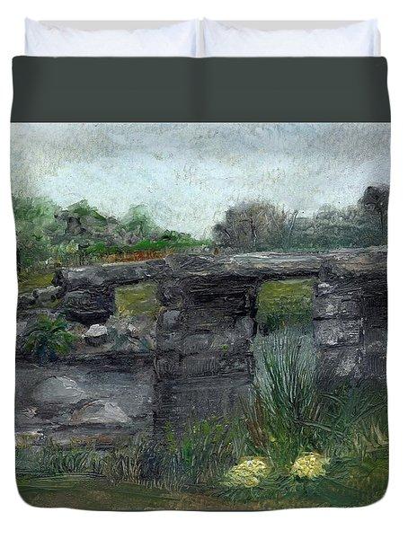 Postbridge Dartmoor Duvet Cover by Carol Rowland