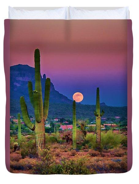 Postcard Perfect Arizona Duvet Cover