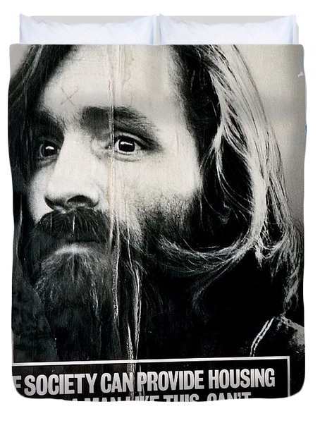 Poster Boy Charlie Duvet Cover by Ed Weidman