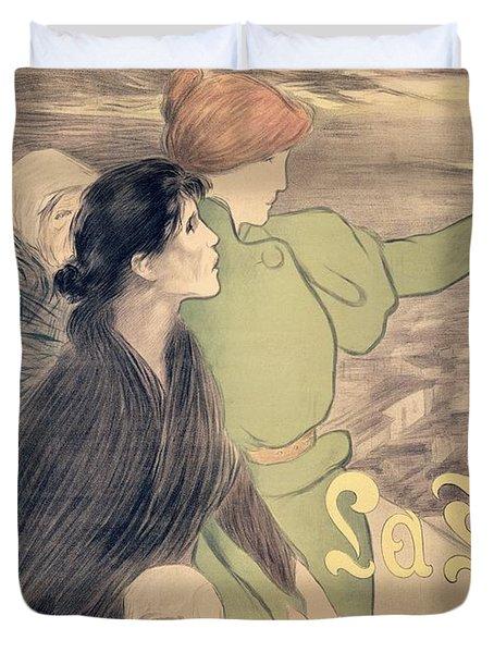 Poster For La Fronde Duvet Cover