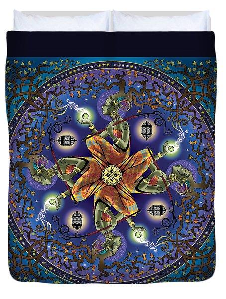 Potential Mandala Duvet Cover