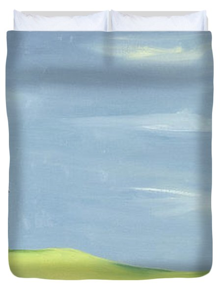 Poulton Fields  Duvet Cover by Ana Bianchi