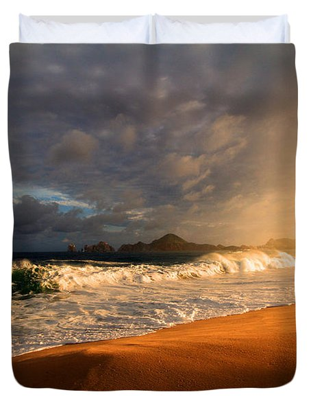 Duvet Cover featuring the photograph Power by Eti Reid