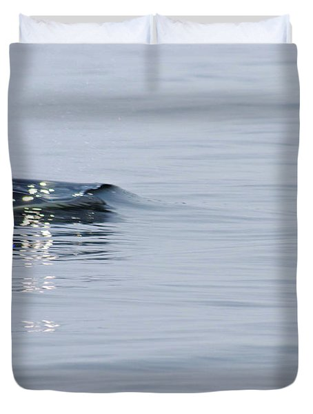 Duvet Cover featuring the photograph Power In Motion by Marilyn Wilson