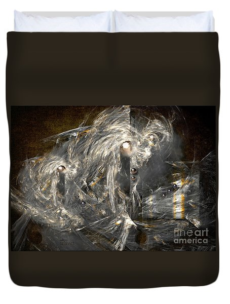 Light Energy Power Station Duvet Cover