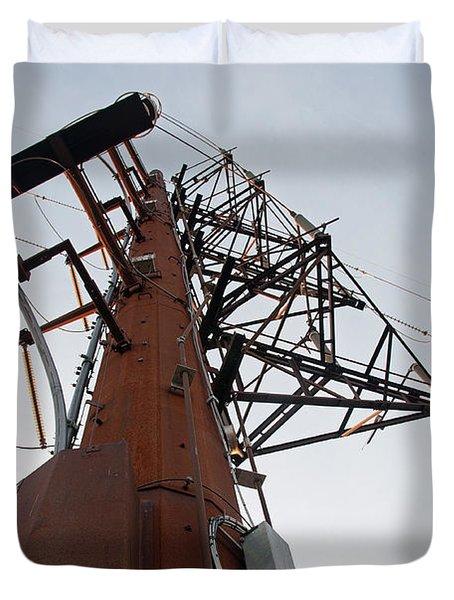 Power Up Duvet Cover by Minnie Lippiatt