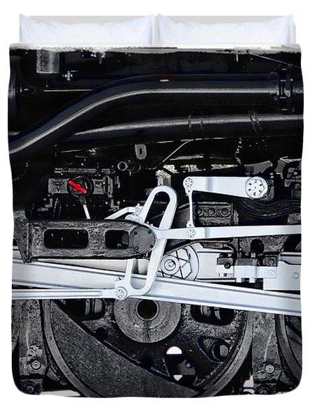 Power Wheels Duvet Cover