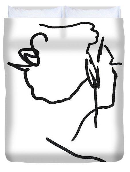 Practice Matisse  Duvet Cover