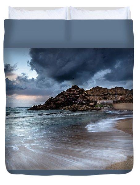 Praia Formosa Duvet Cover