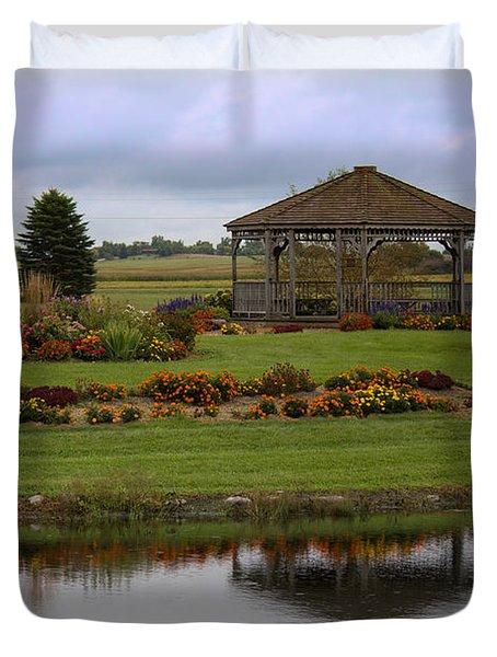 Prairie Arboretum  Duvet Cover